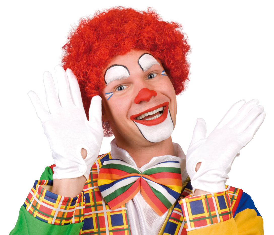 Irrational fear of  . . . Clowns. Funny and creepy.