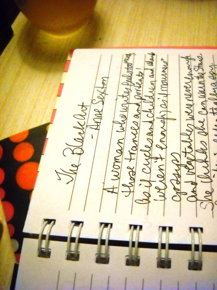 Click Chicks Photo Challenge: Handwriting