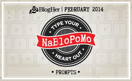 NaBloPoMo: Blogging is . . .