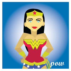 Wonder Woman by Drew Blank