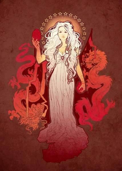 Daenerys Targaryen, Mother of Dragons: A to Z Challenge, D
