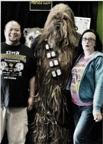 Pucker up Chewie! :)