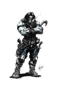 http://xombiedirge.com/post/59673280991/lobo-the-bounty-hunter-by-tony-vassallo-website