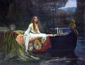 The Lady of Shalot by John William Waterhouse