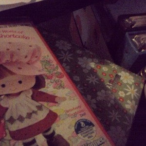 OMG. Strawberry Shortcake &  Photo Albums. Oh the nostalgia is overwhelming. :)