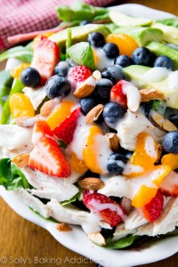 http://sallysbakingaddiction.com/2014/05/25/strawberry-almond-chicken-salad/