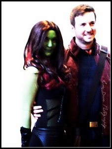 Guardians of the Galaxy. Peter Quill and Gamora