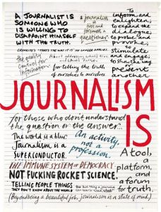Lettering by Sarah Coleman. http://www.cjr.org/cover_story/what_is_journalism_for.php
