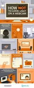 http://www.jobcluster.com/blog/tips-for-video-interview-how-not-to-look-ugly-on-a-webcam-infographic/