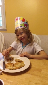 #birthdaypancakes for the #birthdayprincess