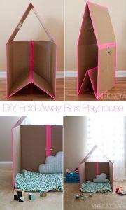 http://builtbykids.com/diy-fold-away-cardboard-box-playhouse/?pid=1035