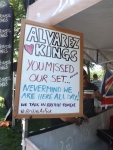 Alvarez Kings had the best sign. :)