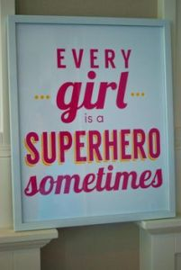 http://www.karaspartyideas.com/2013/08/girly-superhero-3rd-birthday-party.html