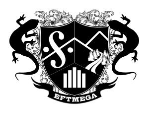 eft mega logo b&w