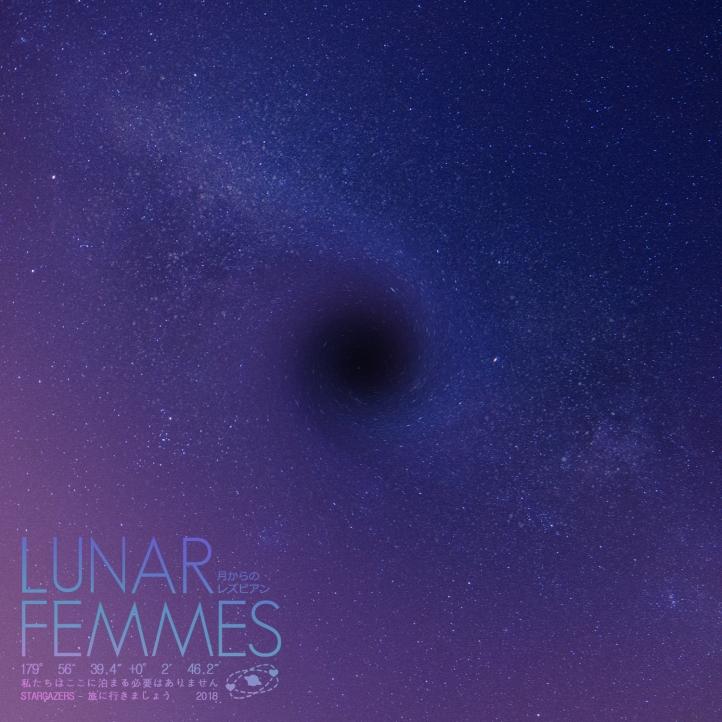 Stargazers EP Cover, Lunar Femmes