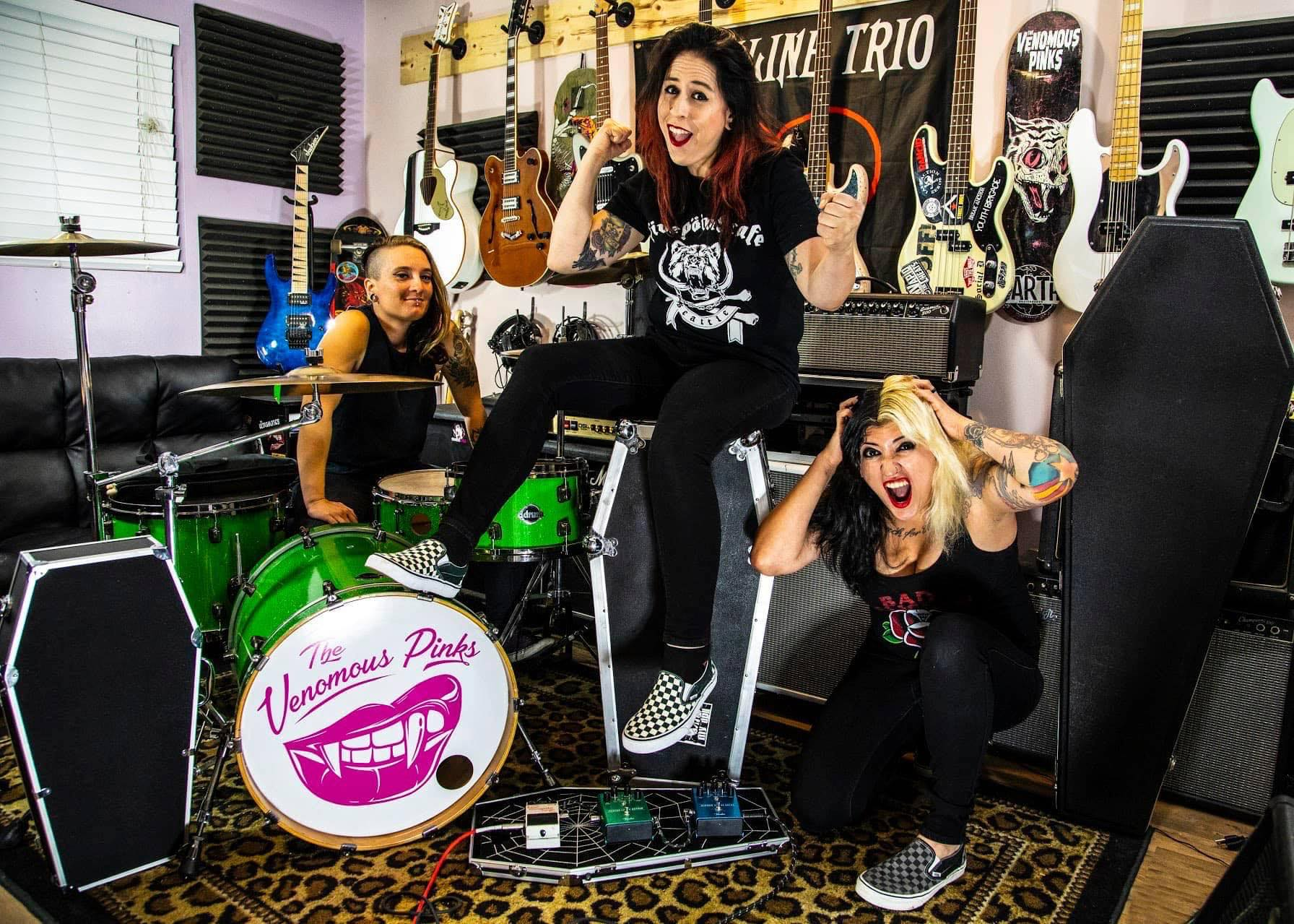 Meet and Greet: The Venomous Pinks
