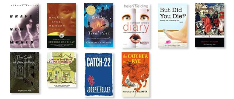 10 BOOKS ON THE #ALREADYREAD SHELF. PART 4