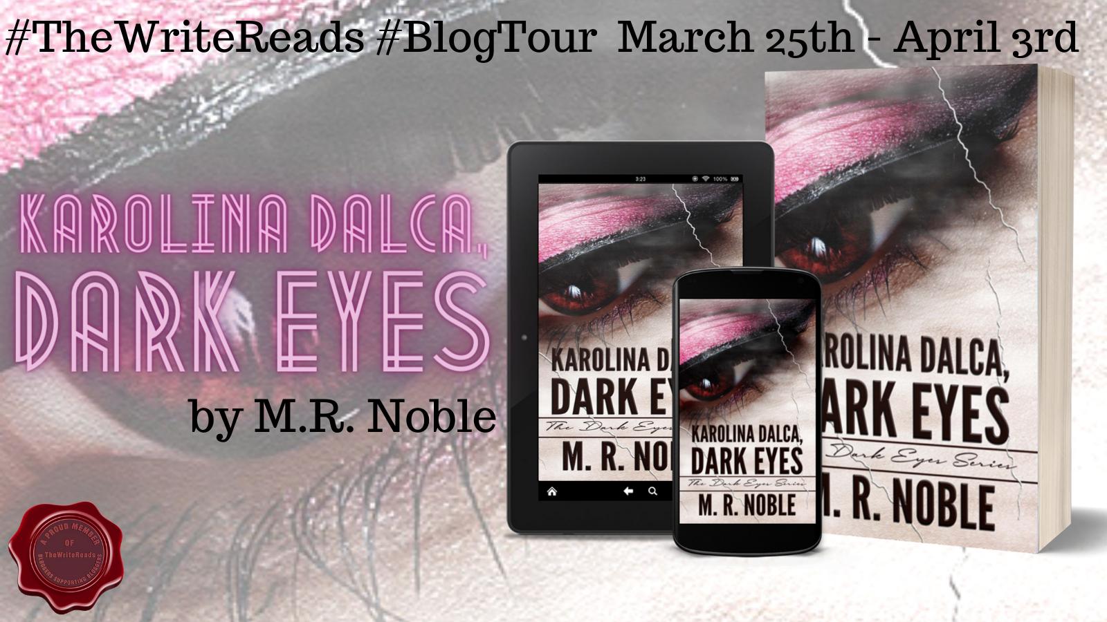 Karolina Dalca, Dark Eyes: #bookreview