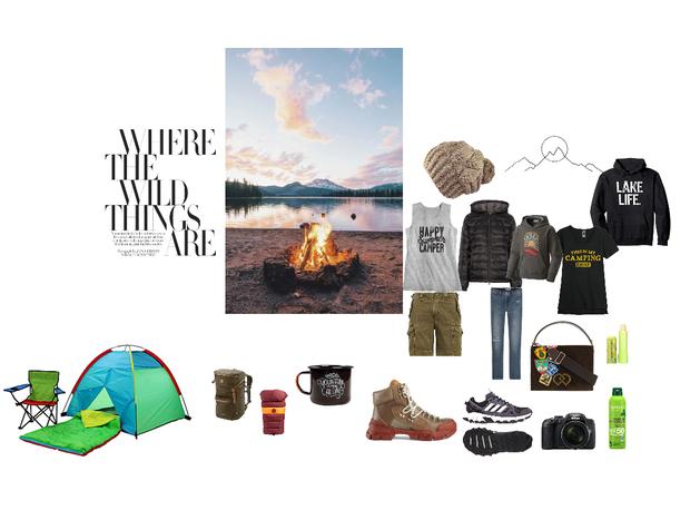 Camping Fashion: #fashionblog